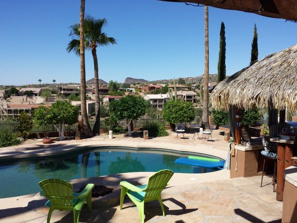 Fountain Hills Home with pool