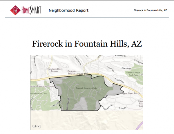 FireRock_Country_Club_Map